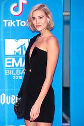 November 4, 2018 - Bilbao, Bizkaia, Spanien - Mandy Bork bei der Verleihung der MTV European Music Awards 2018 in der Bizkaia Arena. Bilbao, 04.11.2018 (Credit Image: © Future-Image via ZUMA Press)