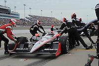 Helio Castroneves, Iowa Corn Indy 250, Iowa Speedway, Newton, IA  USA,  6/20/2010