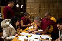 St Paul's School Monks and Community Workshop.  ©2019 Karen Bobotas Photographer