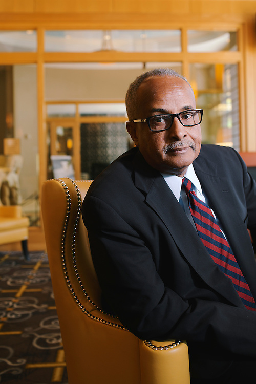 Dr. Abdusalam Omer, governor of the Central Bank of Somalia. .CREDIT: Lexey Swall for The Wall Street Journal.SOMALIA