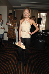 LADY ELOISE ANSON at a lunch hosted by Ralph Lauren to present their Spring 2007 collection in support of the Serpentine Gallery's Education Programme, held at Fifty, 50 St.James's Street, London SW1 on 20th March 2007.<br />