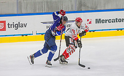 during the final match of Slovenia Cup 2020/21 between HDD SIJ Acroni Jesenice and HKMK Bled, on 19.09.2020 in Ljubljana, Slovenia. Photo by Urban Meglič / Sportida
