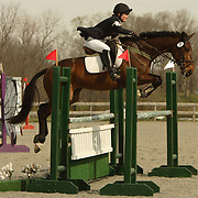 India McEvoy (USA) and Jumbo's Jake at the Morven Park Spring Horse Trials held in Leesburg, Virginia