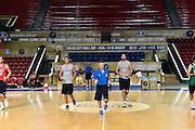 DESCRIZIONE : Tbilisi City Hall Cup - Allenamento<br /> GIOCATORE : Achille Polonara Riccardo Cervi Francesco Cuzzolin<br /> CATEGORIA : nazionale maschile senior A <br /> GARA : Tbilisi City Hall Cup - Allenamento <br /> DATA : 13/08/2015<br /> AUTORE : Agenzia Ciamillo-Castoria