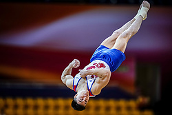 October 29, 2018 - Doha, Qatar - Nikita Nagornyy of  Russia   during  Floor, Team final for Men at the Aspire Dome in Doha, Qatar, Artistic FIG Gymnastics World Championships on October 29, 2018. (Credit Image: © Ulrik Pedersen/NurPhoto via ZUMA Press)