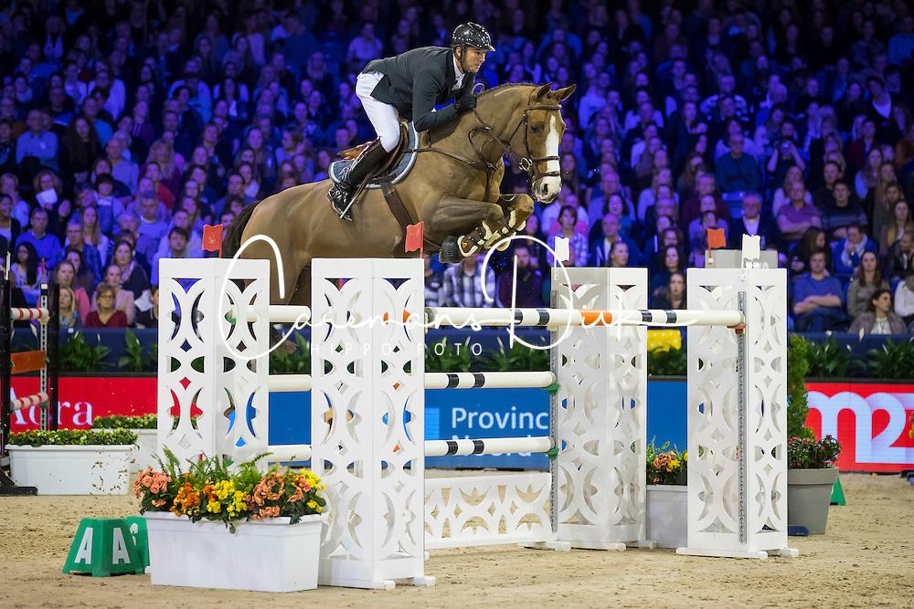 Delaveau Patrice, FRA, Aquila HDC<br /> Anemone Horse Trucks Prize<br /> Jumping Amsterdam 2017<br /> &copy; Hippo Foto - Leanjo de Koster<br /> 28/01/17