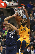 Minnesota Timberwolves v Utah Jazz - 1 April 2018