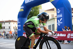 Rosella Ratto (Cylance Pro Cycling) at Giro Rosa 2016 - Prologue. A 2 km individual time trial in Gaiarine, Italy on July 1st 2016.