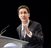 Labour Annual Conference<br /> at the Echo Arena & BT Convention Centre, Liverpool, Great Britain <br /> 25th to 28th September 2011 <br /> <br /> Rt Hon Ed Miliband MP <br /> Leader of the Labour Party <br /> Member of Parliament<br /> for Doncaster North<br /> <br /> Photograph by Elliott Franks