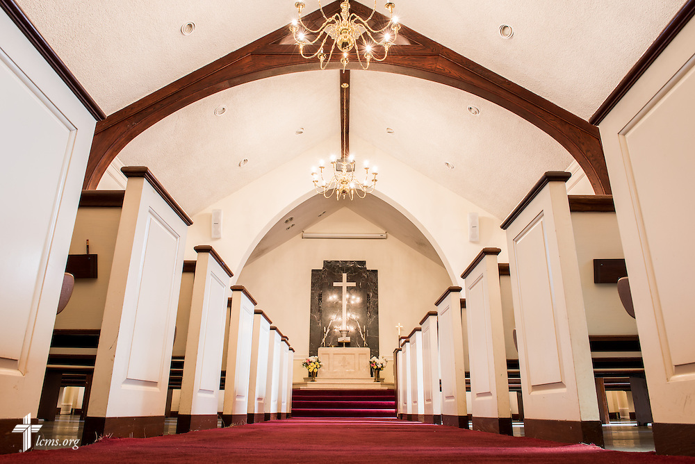 The interior of Christ Chapel at Concordia College Alabama on Wednesday, August 20, 2014, in Selma, Ala.  LCMS Communications/Erik M. Lunsford