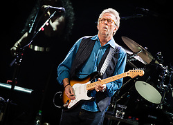 © Licensed to London News Pictures. 14/05/2015. London, UK.   Eric Clapton  performing live at Royal Albert Hall.   Photo credit : Richard Isaac/LNP
