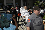 Edgar Ray Killen is taken out of court in a stretcher in Philadelphia,Ms.(Photo/Suzi Altman)