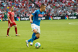 August 2, 2017 - Munich, Germany - Rog Marko od Napoli during the Audi Cup 2017 match between SSC Napoli v FC Bayern Muenchen at Allianz Arena on August 2, 2017 in Munich, Germany. (Credit Image: © Paolo Manzo/NurPhoto via ZUMA Press)