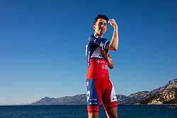 Ziga Horvat during official photo session of Continental Team - Adria Mobil Cycling before new season 2020, on January 30, 2020 in Makarska, Croatia. Photo by Vid Ponikvar / Sportida