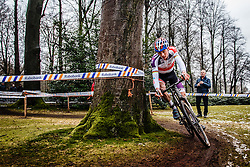 Mathieu van der Poel, NK Veldrijden Elite-Mannen en Beloften-Mannen / Dutch Championship Cyclocross Elite Men and U23 Men at Sint Michielsgestel, Noord-Brabant, The Netherlands, 8 January 2017. Photo by Pim Nijland / PelotonPhotos.com | All photos usage must carry mandatory copyright credit (Peloton Photos | Pim Nijland)