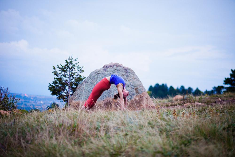 Amanda Fiorino at Flat Irons, Boulder COLORADO