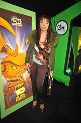 MONICA IRIMIA at the premier of Ben Ten Alien Force at the Old Billingsgate Market, City of London on 15th February 2009.