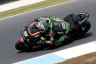 PHILLIP ISLAND, VIC - OCTOBER 27: Monster Yamaha Tech 3 rider Johann Zarco (5) in morning practice during The 2018 Australian MotoGP at The Phillip Island Circuit in Victoria, Australia on October 27, 2018. (Photo by Speed Media/Icon Sportswire)