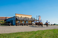 Jersey Lilly Saloon and Restaurant, Ingomar, Montana, Ranch Rodeo, cowboys