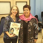 Elizabeth Suneby and Razia Jan