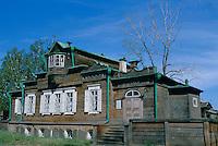 Russie. Siberie. Irkoutsk. Maison des decembristes. // Russia. Siberia. Irkoutsk.