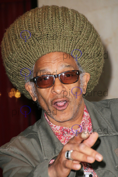 Don Letts, Ivor Novello Awards, Grosvenor House Hotel, London UK, 22 May 2014, Photo by Richard Goldschmidt