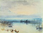 Constance' c1841-1842: Joseph Mallord Willliam Turner (1775-1851) English artist.   Study.