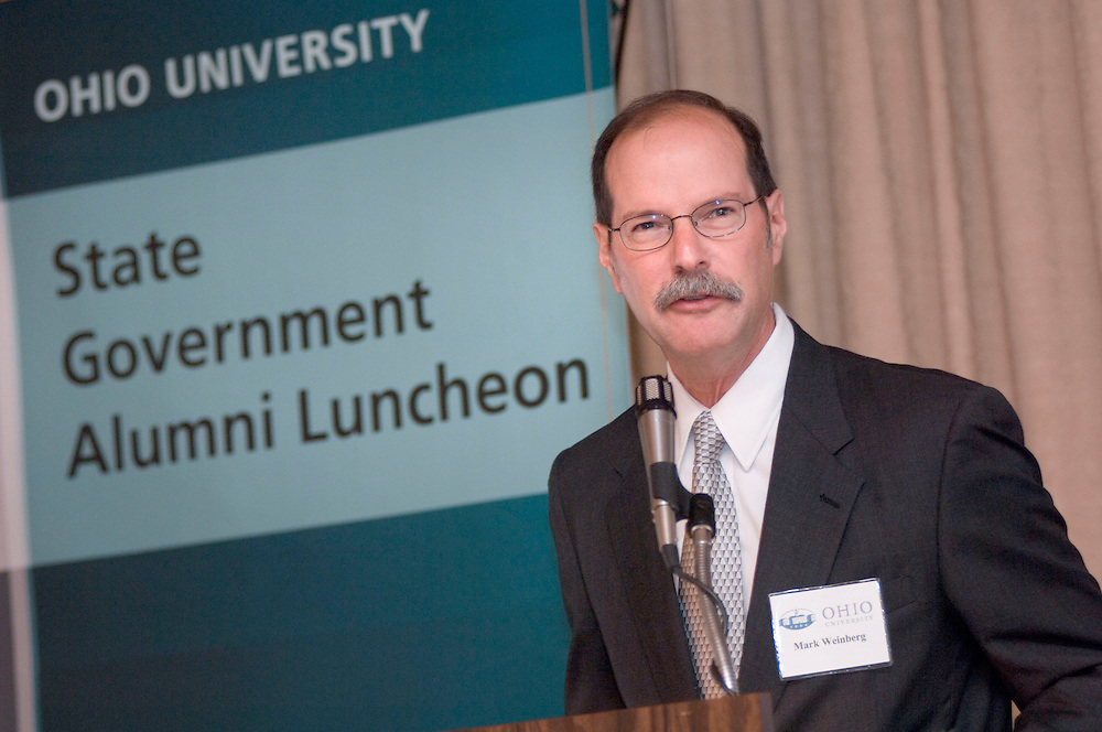 1766423rd Ohio University State Government Alumni Luncheon in Columbus...Mark Weinberg, Director, Voinovich Center
