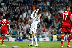 23.04.2014, Estadio Santiago Bernabeu, Madrid, ESP, UEFA CL, Real Madrid vs FC Bayern Muenchen, Halbfinale, Hinspiel, im Bild Real Madrid's Cristiano Ronaldo // Real Madrid's Cristiano Ronaldo during the UEFA Champions League Round of 4, 1st Leg Match between Real Madrid vs FC Bayern Munich at the Estadio Santiago Bernabeu in Madrid, Spain on 2014/04/23. EXPA Pictures © 2014, PhotoCredit: EXPA/ Alterphotos/ Caro Marin<br /> <br /> *****ATTENTION - OUT of ESP, SUI*****