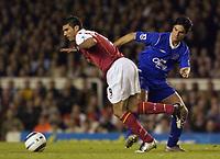 Fotball<br /> England 2004/2005<br /> Foto: SBI/Digitalsport<br /> NORWAY ONLY<br /> <br /> FA Barclays Premiership<br /> Arsenal v Everton<br /> 11th May, 2005<br /> <br /> Arsenal's Jose Antonio Reyes skips past Everton's Mikel Arteta