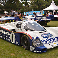 #1 Porsche 962-004 Works, Rothmans, Jackie Ickx, Jochen Mass at the Salon Privé in Syon Park, London, UK, 24 June 2011