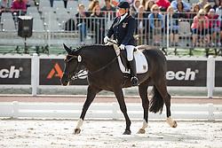 Elke Philipp, (GER), Regaliz - Freestyle Grade Ia Para Dressage - Alltech FEI World Equestrian Games™ 2014 - Normandy, France.<br /> © Hippo Foto Team - Leanjo de Koster<br /> 25/06/14