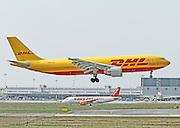 DHL Airbus A300 at Milan - Malpensa