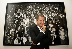 Mario Testino attending the launch of his 'Obsessed By You' exhibition at Phillips de Pury & Company, Howick Place, south London.