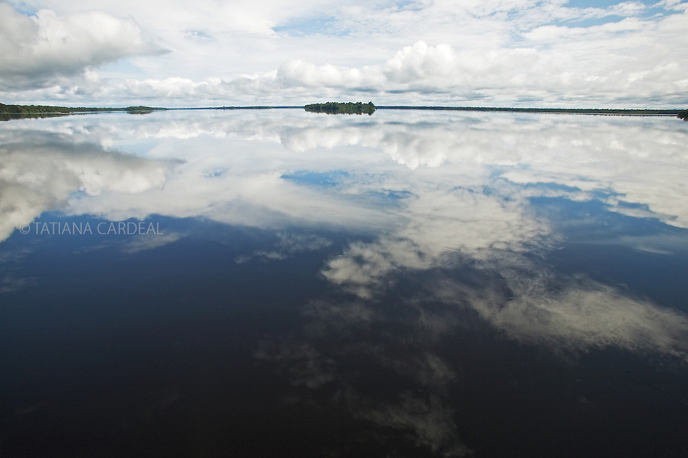 Rio Negro (Black River), at Amazonas State, Brazil.