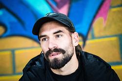 Portrait of Luka Majcen, football player for NK Triglav Kranj, on November 28, 2019 in Lepa Zoga, Ljubljana, Slovenia. Photo by Matic Klansek Velej / Sportida