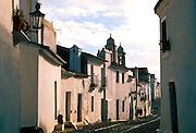PORTUGAL, ALENTEJO Monsaraz; cobblestone streets