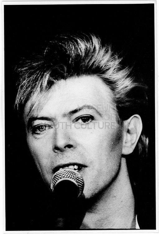David Bowie, Glass Spider Tour, London 1987