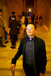 Film director Tina Takemoto poses for a photograph at the Gala for the CAAM Film Festival, at the Asian Art Museum, Thursday, May 10, 2018 in San Francisco, Calif. (D. Ross Cameron/SF Chronicle)