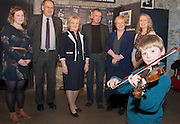 09/01/2017  Maeve Bryan, Galway Music Residency, Shane O'Mahony, CAG Accountants, Mary Dooley, Chair, Galway Music Centre, Ciaran Ryan, Galway Jazz FestivalMaire McMahon, Ulster Bank, Eithne Egan, Galway Music Residency with Glen Kelly in the Mick Lally Theatre , Druid for the launch of the Galway Music Centre. Photo: Andrew Downes,  xposure