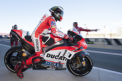 November 11, 2017 - Valencia, Valencia, Spain - 99 Jorge Lorenzo (Spanish) Ducati Team Ducati during qualifying the Gran Premio Motul de la Comunitat Valenciana, Circuit of Ricardo Tormo,Valencia, Spain. Saturday 11th of november 2017. (Credit Image: © Jose Breton/NurPhoto via ZUMA Press)