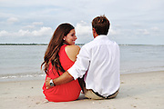 Logan and Erin Engagement | Atlantic Beach NC Photographers
