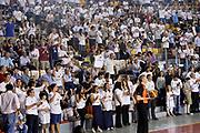 DESCRIZIONE : Roma quarti di finale gara 3 playoff 2013-2014 Acea Roma Acqua Vitasnella Cantù<br /> GIOCATORE : Tifosi<br /> CATEGORIA : Tifosi<br /> SQUADRA : Acea Virtus Roma<br /> EVENTO : quarti di finale gara 3 playoff 2013-2014<br /> GARA : Acea Roma Acqua Vitasnella Cantù<br /> DATA : 24/05/2014<br /> SPORT : Pallacanestro <br /> AUTORE : Agenzia Ciamillo-Castoria/GiulioCiamillo<br /> Galleria : playoff 2013-2014<br /> Fotonotizia : Roma quarti di finale gara 3 playoff 2013-2014 Acea Roma Acqua Vitasnella Cantù<br /> Predefinita :