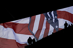 March 11, 2018 - Madrid, Madrid, Spain - Atletico de Madrid flag during a match between Atletico de Madrid vs Celta de Vigo at Wanda Metropolitano Stadium on Febraury 18, 2018 in Madrid, Spain. (Credit Image: © Patricio Realpe/NurPhoto via ZUMA Press)