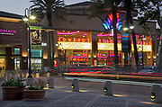 Edwards Theater Aliso Viejo Town Center at Night
