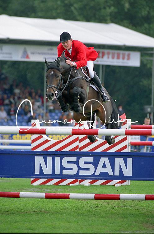 Kirchhoff Ulrich, GER, VDL Indoctro<br /> World Championship Young Horses Lanaken 1998<br /> Photo © Dirk Caremans