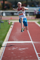 KEGELEV Evgeny, RUS, Triple Jump, T12, 2013 IPC Athletics World Championships, Lyon, France