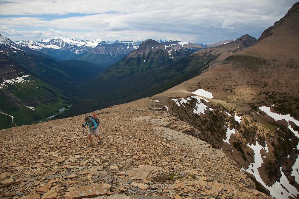 Susi Hauser, Dawson Pass, Two Medicine, Glacier National Park, Montana