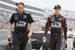 May 6, 2018 - Dover, Delaware, United States of America - Trevor Bayne (6) hangs out on pit road during a rain delay for the AAA 400 Drive for Autism at Dover International Speedway in Dover, Delaware. (Credit Image: © Chris Owens Asp Inc/ASP via ZUMA Wire)