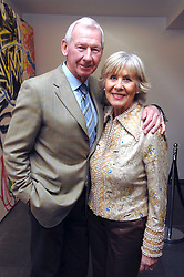 Fotballer BOB WILSON and his wife at a party to celebrate the publication of Vivienne Westwood's Opus held at The Serpentine Gallery, Kensington Gardens, London W2 on 12th February 2008.<br /><br />NON EXCLUSIVE - WORLD RIGHTS